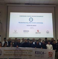 Samarqand Startap Inkubator Markazi rezidentlarining yillik  hisobot seminari bo`lib o`tdi